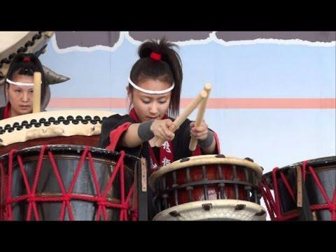 飛龍高校 和太鼓部 第2回全� 高校生太鼓甲子園 最優秀賞 富士山太鼓まつり