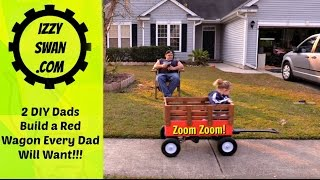 DIY - remote control wagon that an adult can ride
