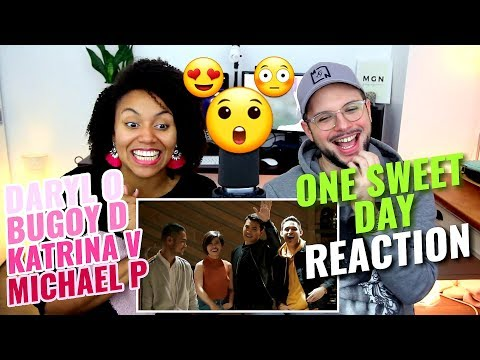 Daryl O, Katrina V, Bugoy D, Michael P - One Sweet Day | Cover | REACTION