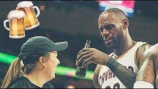 NBA Fan / Player Interactions