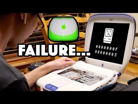MORE iBOOK CLAMSHELL REPAIR FAILED