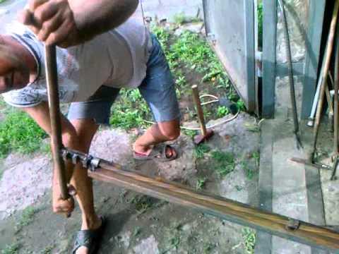 Как скрутить квадратный прут в домашних условиях