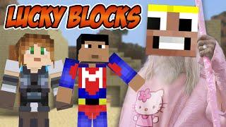 EL SEÑOR DE LOS TEMPLOS!!!   Lucky Blocks con LadyBoss y Magoangel   Elyas