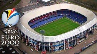 UEFA Euro 2000 Belgium & Netherlands Stadiums
