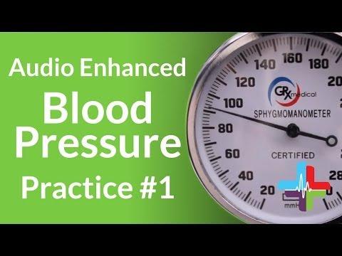 Audio Enhanced Blood Pressure Practice #1