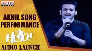 Akhil Song Performance @ HELLO! Movie Audio Launch | Akhil Akkineni, Kalyani Priyadarshan
