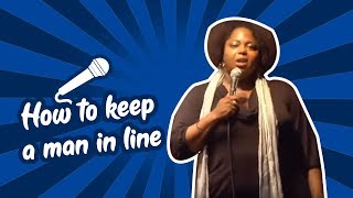 Cocoa Brown - How To Keep A Man In Line (Stand Up Comedy)
