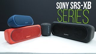 Sony SRS-XB Series Review