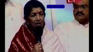 lata mangeshkar felicitated on 75th birthday by sahara