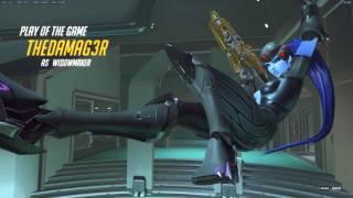 Widowmaker highlight as TheDaMag3r | #4 kill's in dorado | qiuck scope