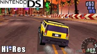 Asphalt Urban GT -  Nintendo DS Gameplay High Resolution (DeSmuME)