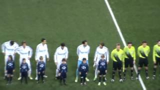 Ligue des Champions 2013 - Real madrid - Manchester United au stade Santiago Bernabéu