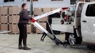 NEW Makinex Powered Hand Truck - Find out how it works