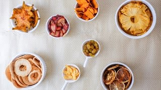 How To Make Dried Fruits Snack (using oven)