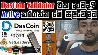 How to Activate Dascoin Validator - Ledger Nano S || Tipvisor