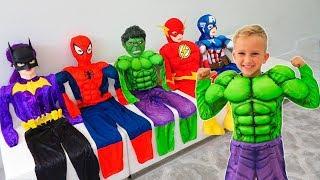 Vlad se convirtió en un superhéroe y ayuda a sus amigos