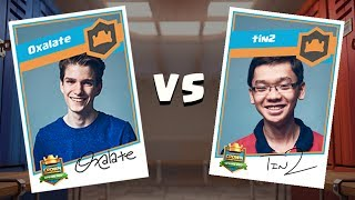 Clash Royale: Oxalate vs. Tin2 Tiebreaker Match - Crown Championship Top 8  (NA, Week Three)