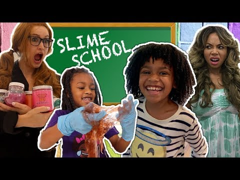 Slime School Teacher vs Silly Students New Toy School