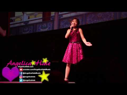 Angelica Hale Singing Greatest Love of All in Vancouver Canada