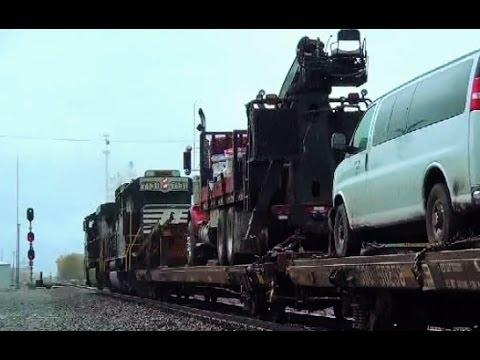 MOW Camp Train at Mike Tower Ft Wayne Indiana