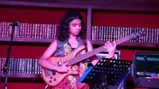 Amazing Bass Prodigy - Mohini Dey Live at Windmills Craftworks, 15th June, 2013