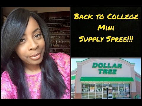 Dollar Tree | BACK to COLLEGE Mini Supplies Spree!! | Motivational Stickers & More!!