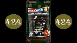 Score Hero - level 424 - 3 stars