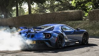 2017 Goodwood Festival of Speed: BEST Burnouts, Donuts & Launches!