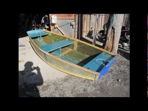 из чего можно сделать лодку для рыбалки