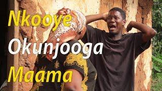 (Gadimba) Nkooye okunjooga maama - Comedy skits.