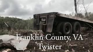 Franklin County, Va Twister 2019   Rocky Mount Tornado Damage