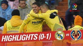 Resumen de Real Madrid vs Villarreal CF (0-1)