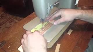 Scroll Saw / sewing machine hack