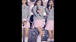 160504 아이오아이(IOI) 판교현대백화점 콘서트 직캠(Fancam) 멘트5(끝인사)