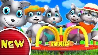 Wolf Finger Family | Nursery Rhymes | Kids Songs For Children