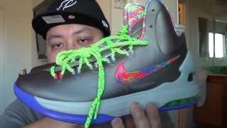 """Nike Zoom Kd 5 """"Sport Grey"""" KD V Sport Grey """"Nerf"""" Sneaker Review In Full HD By @Jspekz"""