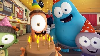 Funny Animated Cartoon 🎉 SPOOKIZ BIRTHDAY PARTY 🎉 스푸키즈 | Cartoon for Children