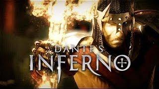 Dante's Inferno All Cutscenes (Game Movie) 1080p