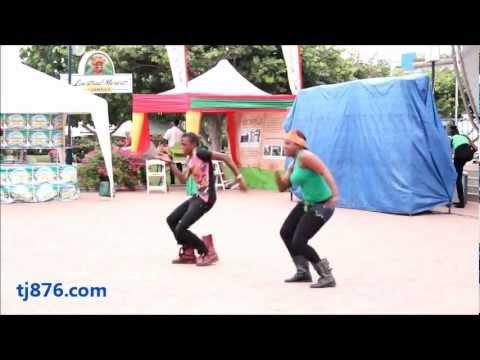 Jamaican Reggae Dancehall Routine By Dance Xpressionz Part 2