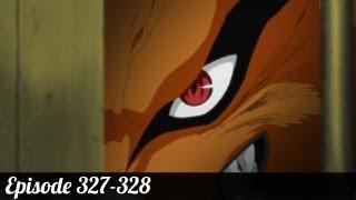 Review Naruto shippuden Episode 327-328 | Kyuubi no yoko!