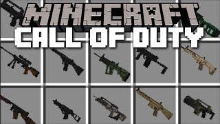 Minecraft ZOMBIE CALL OF DUTY MOD / FIGHT OFF THE EVIL ZOMBIE APOCALYPSE!! Minecraft
