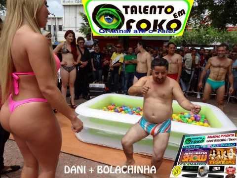 Talento em Foko Dayane Ribeiro Bolachinha na BANHEIRA do JOÃO na Praça José de Alencar