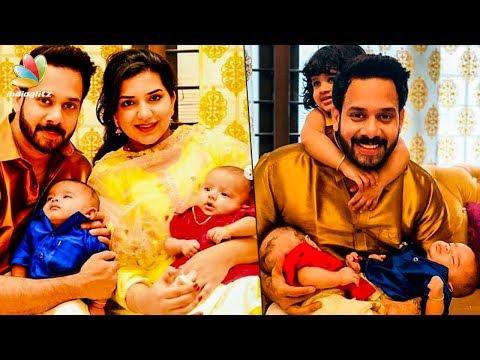 Xxx Mp4 CUTE FAMILY Actor Bharath 39 S Twin Babies Hot Tamil Cinema News 3gp Sex