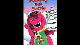 Opening & Closing To Barney:Waiting For Santa 1998 VHS