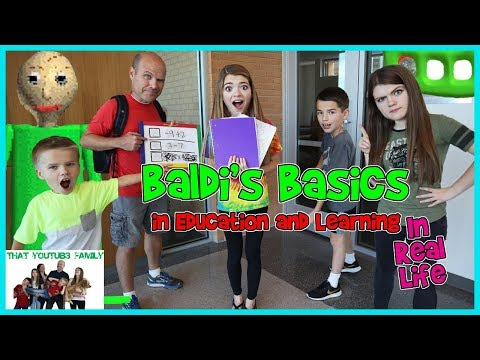 Xxx Mp4 Baldi S Basics In Education And Learning IN REAL LIFE That YouTub3 Family 3gp Sex