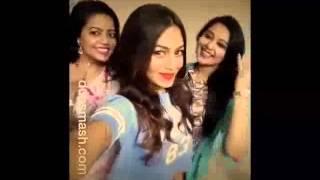 Nusrat Faria funny Reshmi Churi Dubsmash with Kona and Konal