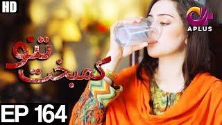 Kambakht Tanno - Episode 164   A Plus ᴴᴰ Drama   Shabbir Jaan, Tanvir Jamal, Sadaf Ashaan