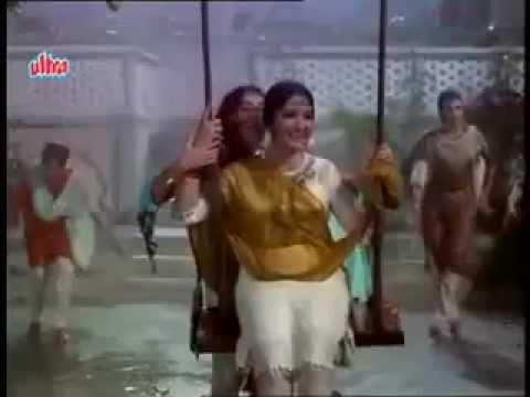 PAD GAYE JHOOLE SAAWAN RUT AAYEE RE- LATA ASHA DUET-SAHIR -ROSHAN (BAHU BEGUM 1967)