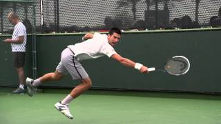 Novak Djokovic Ass And Legs in Slow Motion (HD) - Indian Wells 2013
