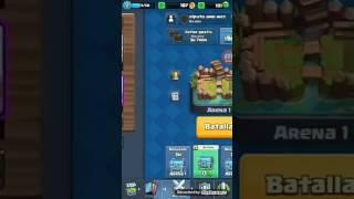 Un primer video con la cuenta mas vaja de las mia ( clash royale